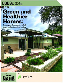 Green and Healthier Homes cover