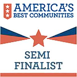 America's Best Communities - Semi Finalist logo