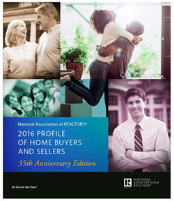 2016 Profile of Home Buyers and Sellers cover