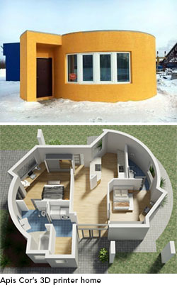 3-D Printed Houses