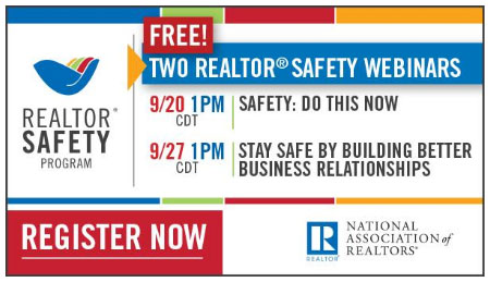 Image: Register for Safety Webinars September 20th and September 27th