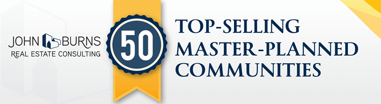 50 Top Selling Master Planned Communities banner
