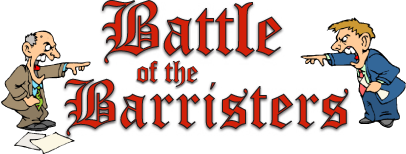 Battle of the Barristers logo