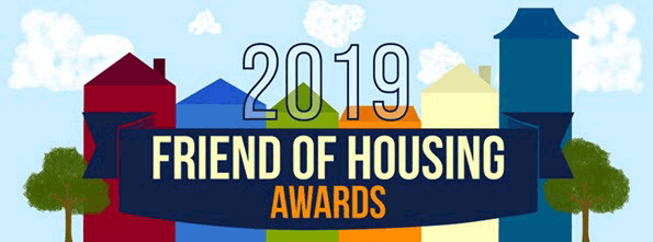 Friend of Housing Awards banner