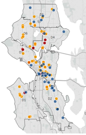 Housing Dashboard Map