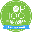 Top 100 Best Places to Live - 2017 logo